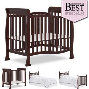 Best Convertible Mini Cribs: Best Curvy Design