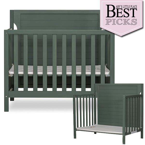 Best Convertible Mini Cribs: Best Full-Panel Headboard