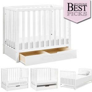 Best Convertible Mini Cribs: Best Under Crib Drawer