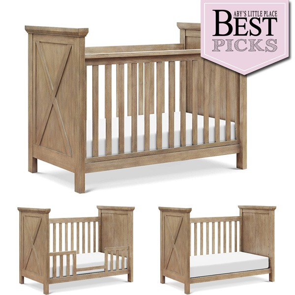 Best Farmhouse Baby Cribs   Top Full-Panel Sideboards