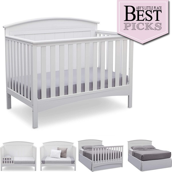 Best Farmhouse Cribs with Arched Back-Panel   Best Budget Buy
