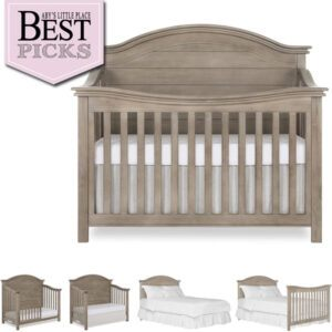 Best Farmhouse Cribs with Arched Back-Panel | Editor's Choice