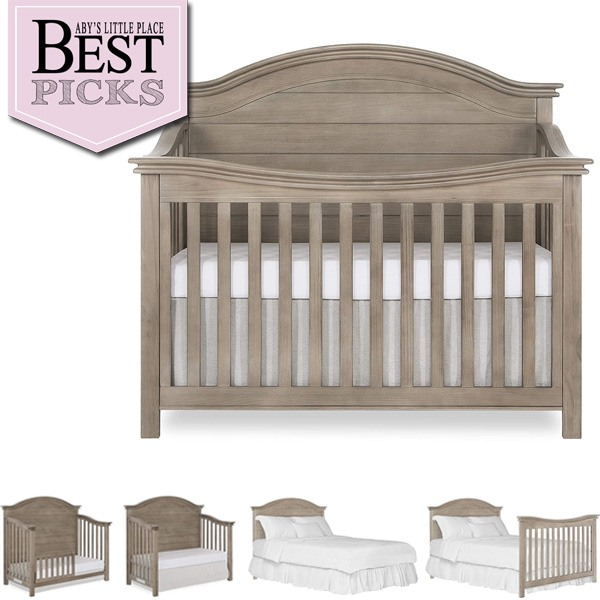 Best Farmhouse Cribs with Arched Back-Panel   Editor's Choice