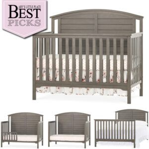Best Farmhouse Cribs with Arched Back-Panel | Runner Up