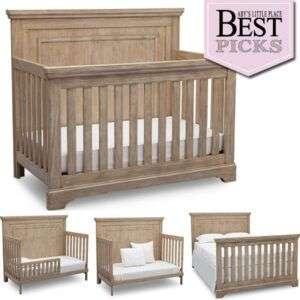 Best Farmhouse Baby Cribs   Rustic Charm