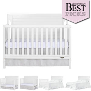 Best Modern Farmhouse Baby Crib | Dream On Me Cape Cod