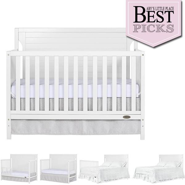 Best Modern Farmhouse Baby Crib   Dream On Me Cape Cod