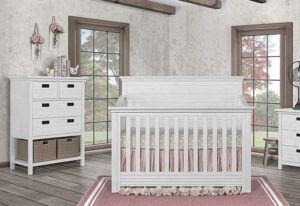 Evolur Waverly - Farmhouse Crib